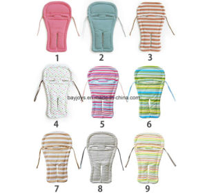 100% Cotton Fabric Reversible Stroller Seat Liner pictures & photos