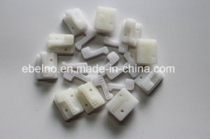 Polypropylene and Nylon Plastic Part CNC Machining Turning and Plastic Injection Service pictures & photos