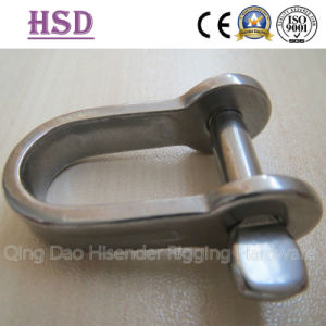 Plate Dee Shackle, Plate Bow Shackle, Ss316, Ss304 pictures & photos