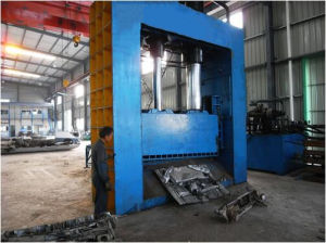 Gantry Shear for Metal Plate Gantry Shearing pictures & photos