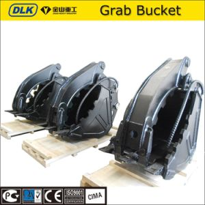 Dlks04 Hydraulci Grab Bucket for Excavator in 7-11ton Class pictures & photos