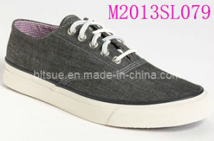 Canvas Sneaker for Mens (M2013SL079) pictures & photos