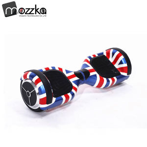 Mozzka Factory Supply UK Market 6.5 Inch Red Transformers Two Wheel Smart Self Balance Dynamic Drift E Scooter