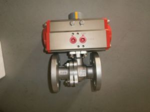 Pneumatic Actuators with The Extruding High Intensity Aluminum Body pictures & photos