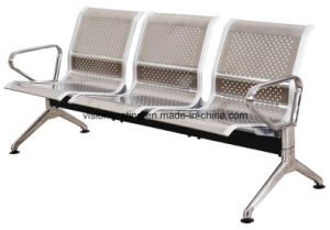 Metal Stainless Steel Airport Lounge Waiting Area Bench (8104) pictures & photos