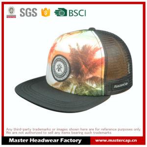 Sponge Front Mesh Back Snapback Hat