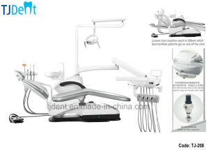 Facilitated 390mm Low Position Stable Denmark Linak Motor Integrated Dental Unit (TJ-208) pictures & photos
