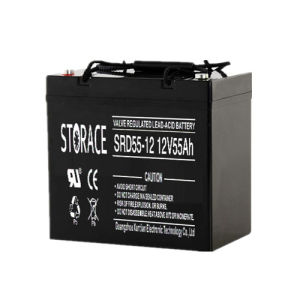VRLA Batteries Srd55-12 12V55ah E-Wheel Chair Battery pictures & photos