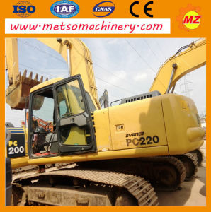 Used Komatsu Crawler Excavator (PC220-6) for Construction
