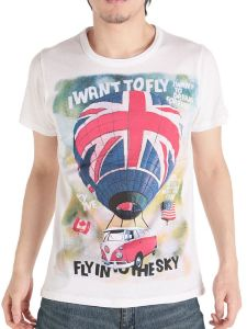 Fashion_Design Cotton Printing Men′s Custom_T Shirt
