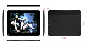 Android 4.0 Tablet PC 9.7′′ips Capacitive Screen Samsumg Exynos4412 A9 Quad Core 1.5g+2g DDR3, Bluetooth, Dual Camera (5MP)