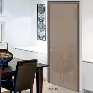 Tempered Glass Door, Aluminum Toilet Door, Wooden Bathroom Door pictures & photos