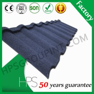 Roofing Material Stone Coated Metal Tile Aluminum Plate House Roof Tile pictures & photos