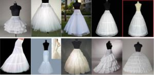 Petticoat&Wedding Dress (P0001)
