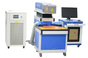 Dp Laser Marking on The Fly Automatic Engraving Machine 2017 pictures & photos