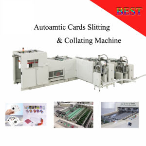 Fq1020 Autoamtic Playing Card Cutting Machine