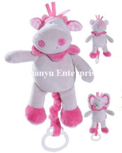 Baby Stuffed Plush Musical Movement Hang Toy pictures & photos