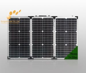 200W Folding Solar Panel for Camping (SGM-F-200W) pictures & photos
