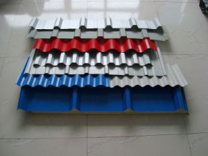 Zinc Color Coated Solid Steel Roofing Sheets PPGI
