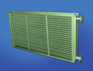 Timber Drying Kiln or Stove Application Aluminum Ribbed Steel Tube Heating Radiator Coils or Steam Condensing Exchangers