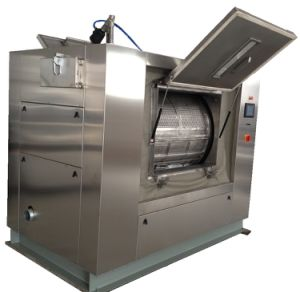 100kg Barrier Washer Extractor Machine (GL-100) pictures & photos