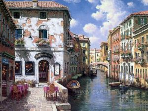 Canvas Art Venice Oil Painting for Wall Decorative pictures & photos