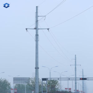 Hot DIP Galvanized Steel Electric Power Pole pictures & photos