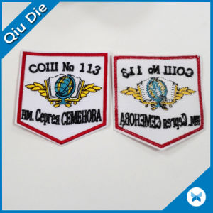 Iron on/Sew on Custom Embroidered Patches for Garment/Hat/Promotion pictures & photos
