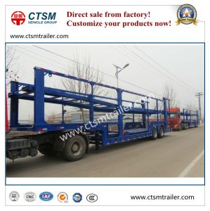 2 -Axle Car Transport Semi Trailer Truck Trailer in Promotion pictures & photos