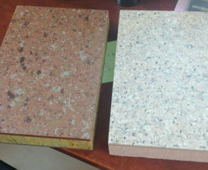 Calcium Silicate Stone Decoration Insulation Sandwich Panel pictures & photos