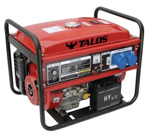 5 Kw Portable Electric Gasoline Generator / 5kVA Power Generator pictures & photos
