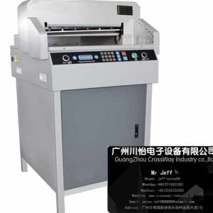 Program Controlled Paper Cutter 4606r for Wedding Photo Album Books