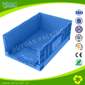Anti-Impact Modified PP Material Plastic Folded Crate pictures & photos