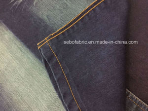 100% Cotton Jacquard Weave Denim Fabric