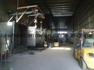 China Specification Construction Metal Heavy Duty Wheelbarrow Wb5009 pictures & photos
