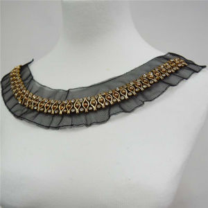 Hot Selling Beaded Neck Design (HMC089) pictures & photos