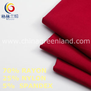 Twill Rayon Nylon Spandex Fabric to Trousers Garment (GLLML459) pictures & photos