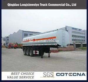 30-50m3 Oil Tanker Transport Fuel Tank Truck Trailer pictures & photos