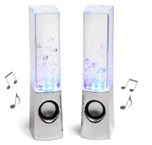 LED Music Fountain Dancing Water Mini Bluetooth Speakers