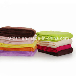 Sales of Leading Solid Coral Fleece Blanket Thicker Blanket pictures & photos