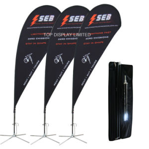 Sports Game Digital Printing Wind Flying Star PVC Polyster Fabric Frontlit Flex Banner pictures & photos