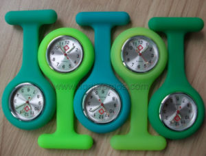 Medical Service Promotioanal Silicone Nurse Watch pictures & photos