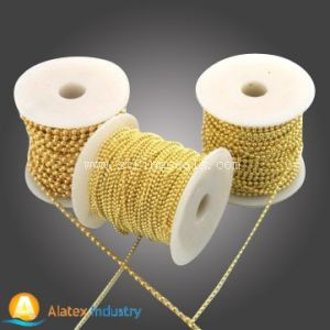 Various Ball Metal Chain with Roll Packing pictures & photos