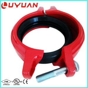 "UL Listed, FM Approval Ductile Iron Grooved Rigid Clamps 12""-323.9mm pictures & photos"