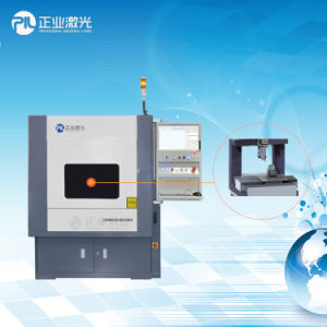 150W Fiber Laser Cutting and Drilling Machine for Stailess Steel Keypad pictures & photos