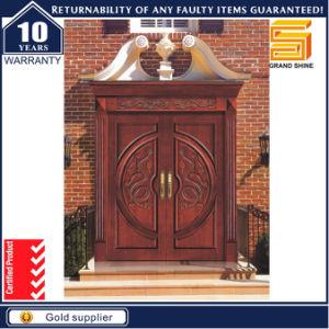 Solid Composite Wooden Door Interior Wood Veneer Door pictures & photos