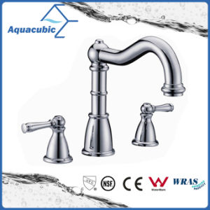 High Quality Upc Brass Widespread Lavatory Faucet (AF9130-6A) pictures & photos
