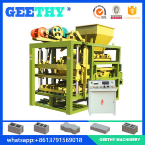 Qtj4-25c Concrete Hollow Brick Block Making Machine pictures & photos