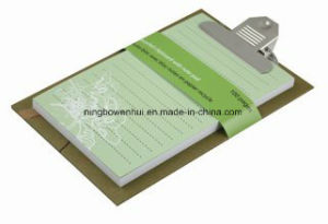 Custom Top Quality Eco-Friendly Clipboard Notepad Memo Cube pictures & photos