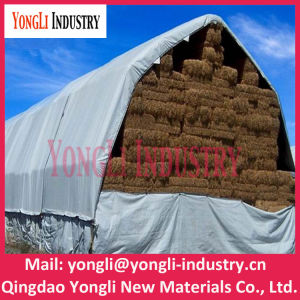 High Quality Korea Orange Color PE Tarpaulin with Competitive Price pictures & photos